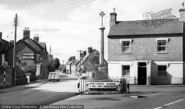 Photo of Wyre Piddle, The Village c.1965