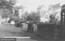 Wytham, School House And Cross Roads c.1965