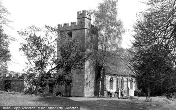 Photo of Wytham, The Church c.1965