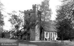Wytham, The Church c.1965