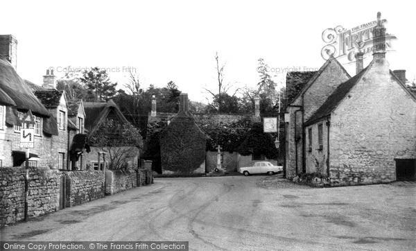 Photo of Wytham, The Village c.1965