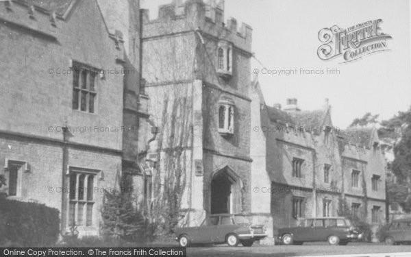 Photo of Wytham, Wytham Abbey c.1965