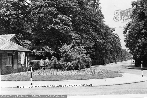 Photo of Wythenshawe, Toll Bar And Brooklands Road c.1960