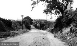 Yaddlethorpe, Main Road c.1955