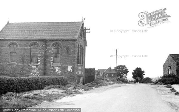 Photo of Yaddlethorpe, Primitive Methodist Chapel c.1955