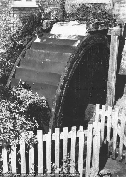 Photo of Yafford, The Water Wheel c.1960