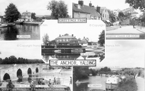 Photo of Yalding, Composite c.1960