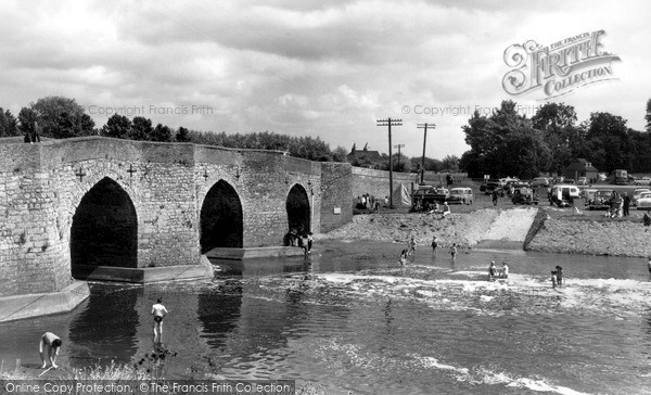 Photo of Yalding, The Bridge And River Beult c.1960