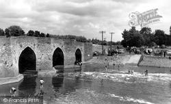 Yalding, The Bridge And River Beult c.1960