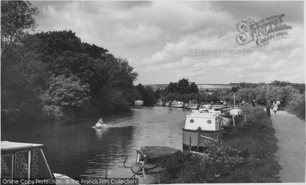 Photo of Yalding, The Medway c.1960