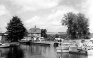 Yalding, the Medway c1960