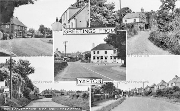 Photo of Yapton, Composite c.1955