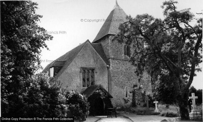 Photo of Yapton, St Mary's Church c.1955