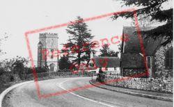 Church And Inn c.1955, Yarcombe