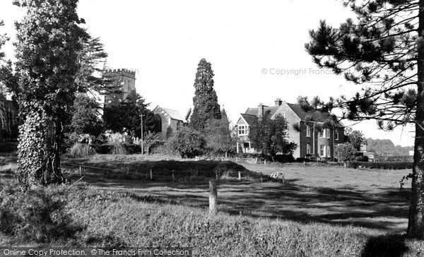 Photo of Yarcombe, Church And Vicarage c.1955