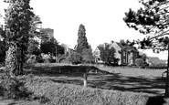 Yarcombe, the Church and Vicarage c1960