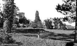 Church And Vicarage c.1955, Yarcombe