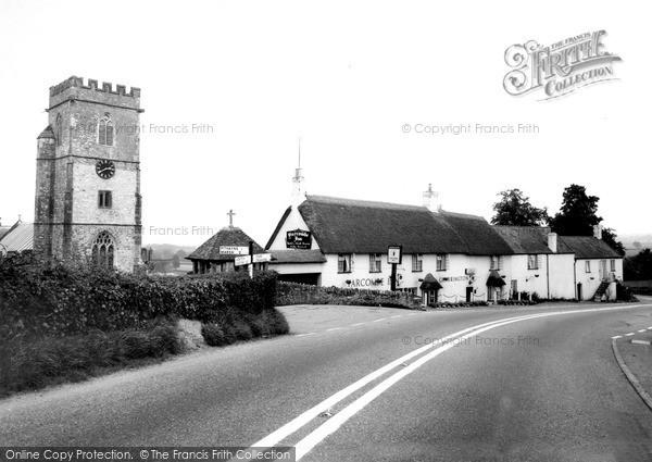 Photo of Yarcombe, Church Of St John The Baptist And Yarcombe Inn c.1960