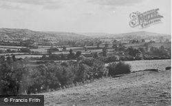 General View c.1955, Yarcombe