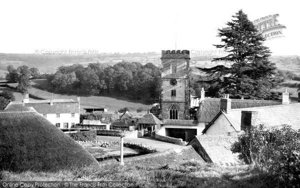 Photo of Yarcombe, The Village c.1955