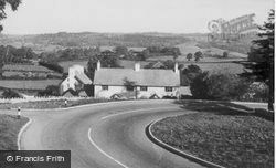 View From The Hill c.1955, Yarcombe