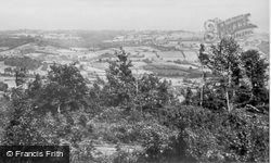 View From Yarcombe Hill c.1955, Yarcombe