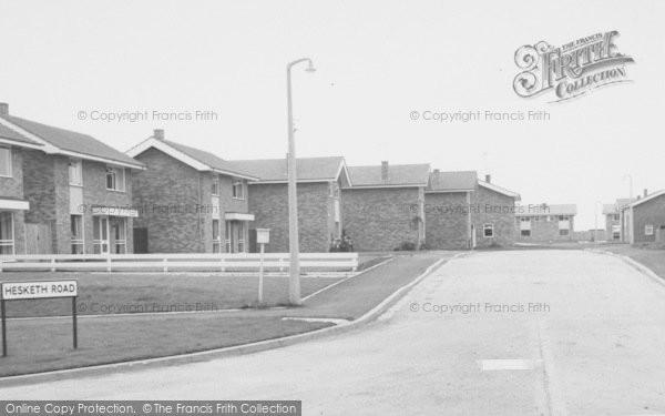 Photo of Yardley Gobion, Hesketh Road c.1965