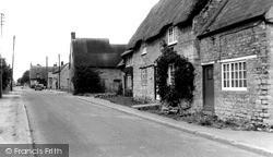 Yardley Gobion, Moorend Road c.1965