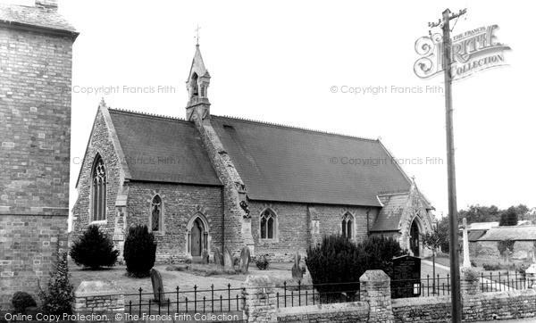 Photo of Yardley Gobion, St Leonard's Church c.1965