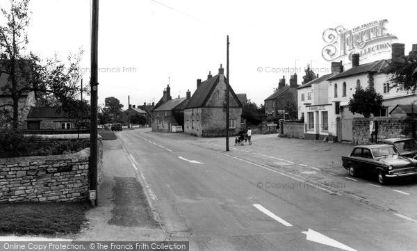 Photo of Yardley Gobion, The Village c.1965