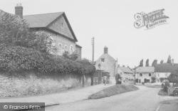 Yardley Hastings, Castle Ashby Road c.1955