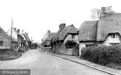 Yardley Hastings, Little Street c.1955