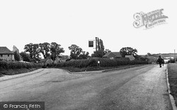 Yardley Hastings, Northampton And Bedford Roads c.1955
