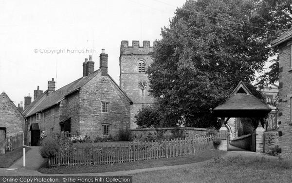 Photo of Yardley Hastings, St Andrew's Church c.1955