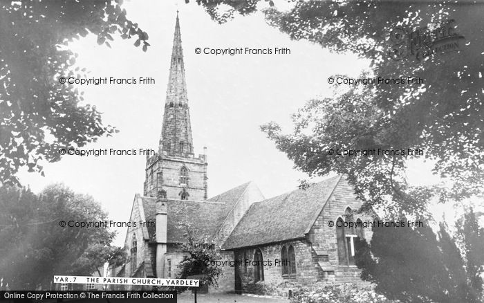 Photo of Yardley, St Edburgha's Church c.1965