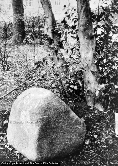 Photo of Yardley, The Gilbert Stone c.1930