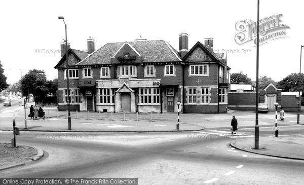 Photo of Yardley, The Yew Tree c.1965