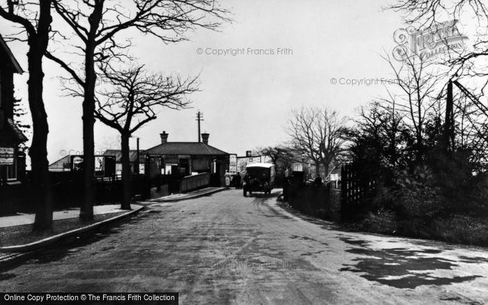 Photo of Yardley Wood, Station, Highfield Road 1937