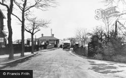 Yardley Wood, Station, Highfield Road 1937