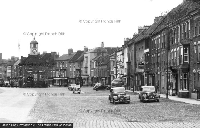 Photo of Yarm, High Street c.1955