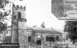 Parish Church c.1965, Yarm