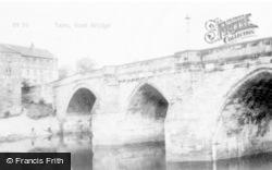 Yarm, Road Bridge c.1965