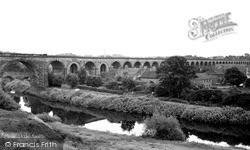 Yarm, The Viaduct c.1955