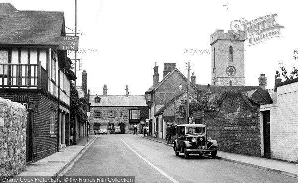 Photo of Yarmouth, Bridge Road c.1955