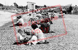 Families On The Beach c.1955, Yarmouth