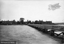 Yarmouth, From The Pier 1923