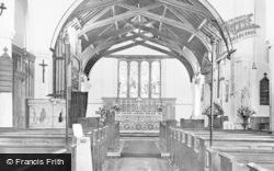 Yarmouth, St James' Church Interior c.1965
