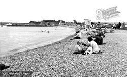 Yarmouth, The Beach c.1955
