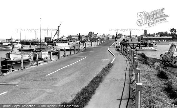 Photo of Yarmouth, The Bridge c.1955