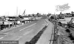 Yarmouth, The Bridge c.1955